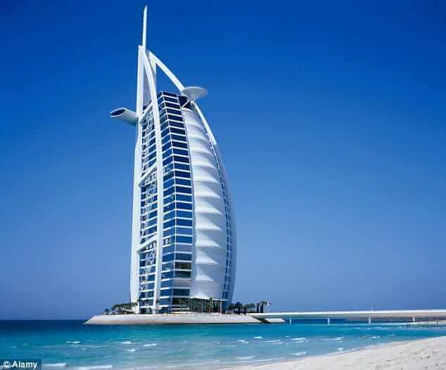 Best hotel in dubai burj al arab for Burj arab dubai